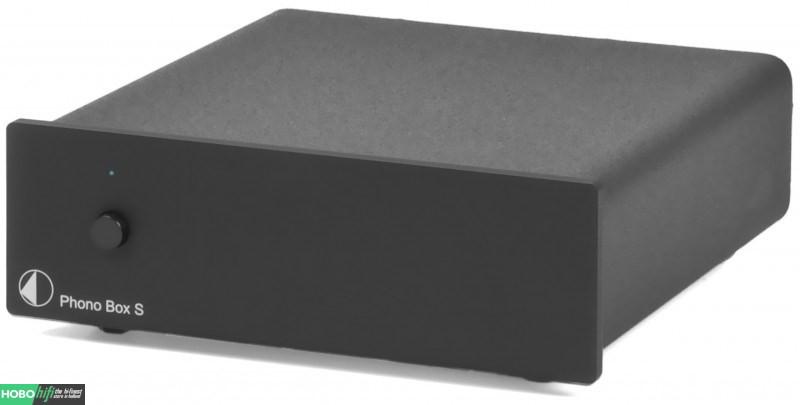 pro ject phono box s zwart phono voorversterker hobo hifi. Black Bedroom Furniture Sets. Home Design Ideas