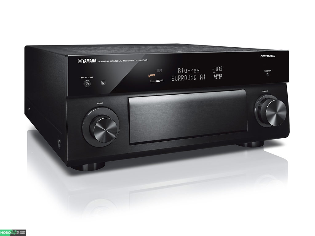 yamaha rx a2080 zwart receiver met musiccast hobo hifi. Black Bedroom Furniture Sets. Home Design Ideas