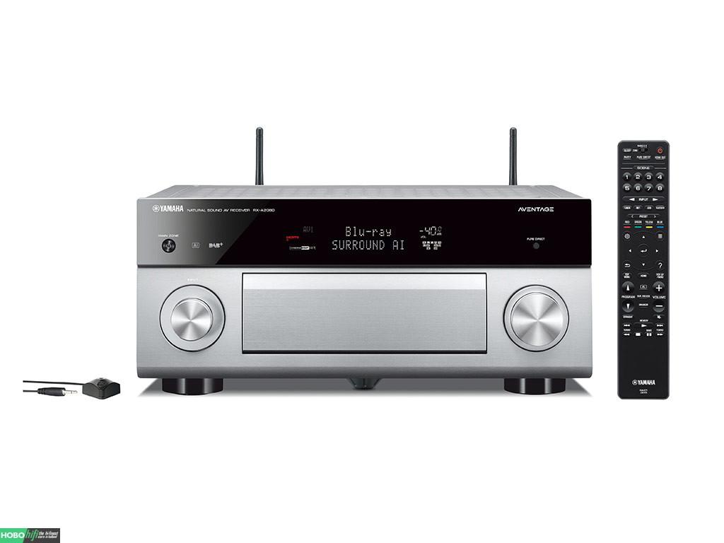 yamaha rx a2080 titanium receiver met musiccast hobo hifi. Black Bedroom Furniture Sets. Home Design Ideas