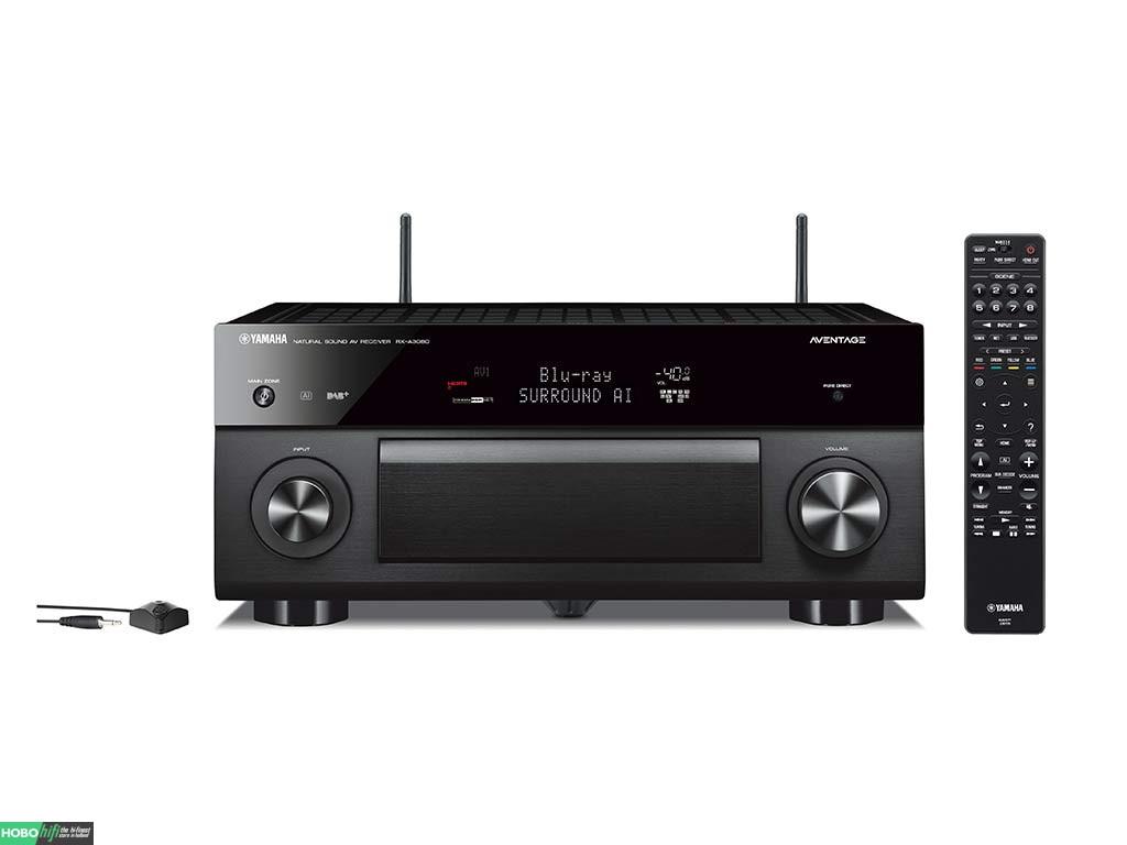 yamaha rx a3080 zwart receiver met musiccast hobo hifi. Black Bedroom Furniture Sets. Home Design Ideas