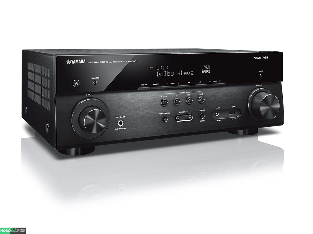 yamaha rx a680 zwart receiver met musiccast hobo hifi. Black Bedroom Furniture Sets. Home Design Ideas