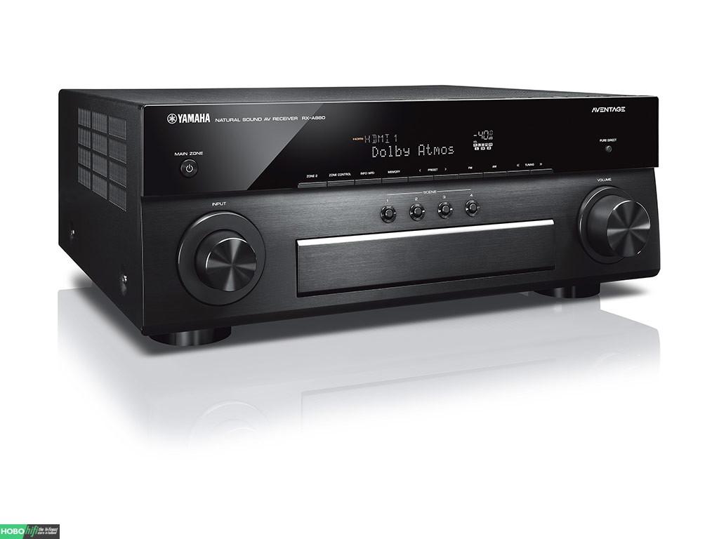 yamaha rx a880 zwart receiver met musiccast hobo hifi. Black Bedroom Furniture Sets. Home Design Ideas