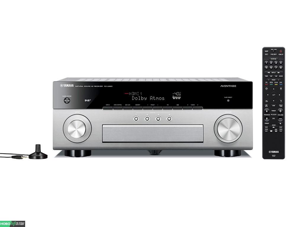 yamaha rx a880 titanium receiver met musiccast hobo hifi. Black Bedroom Furniture Sets. Home Design Ideas
