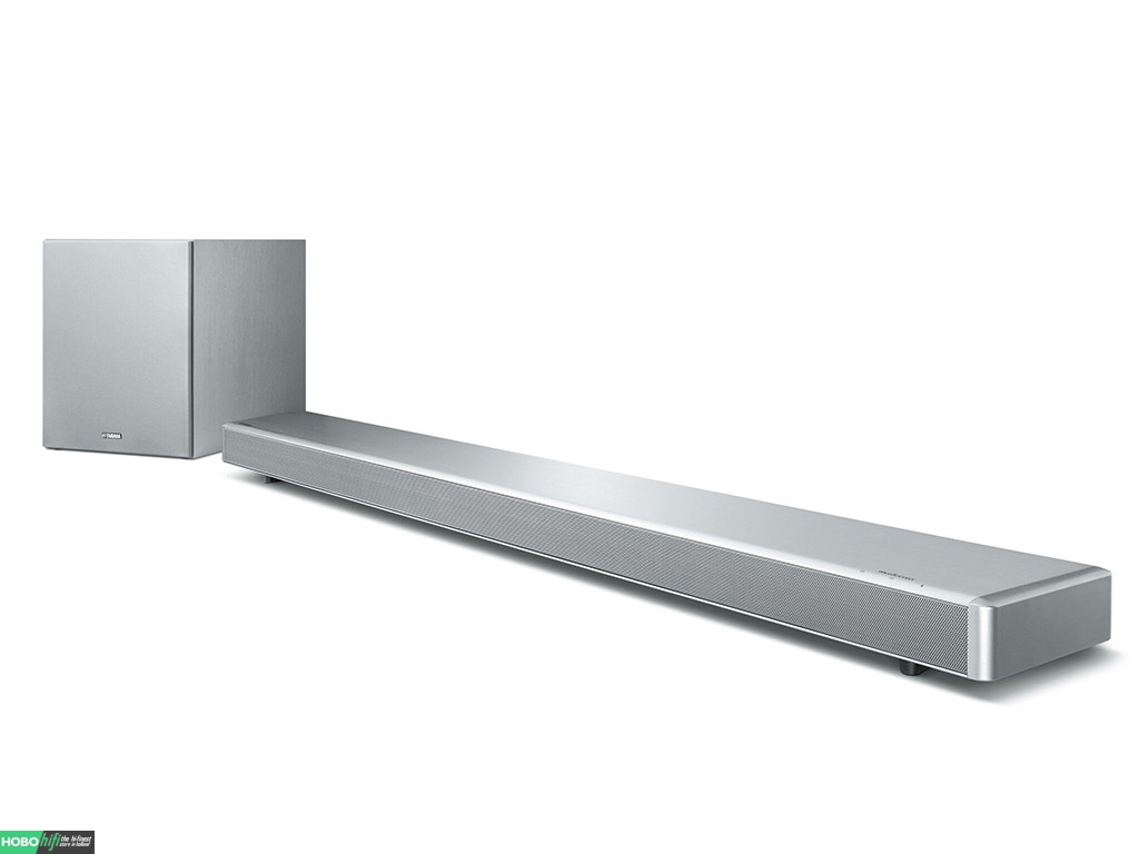 yamaha ysp 2700 musiccast soundbar met subwoofer zilver. Black Bedroom Furniture Sets. Home Design Ideas