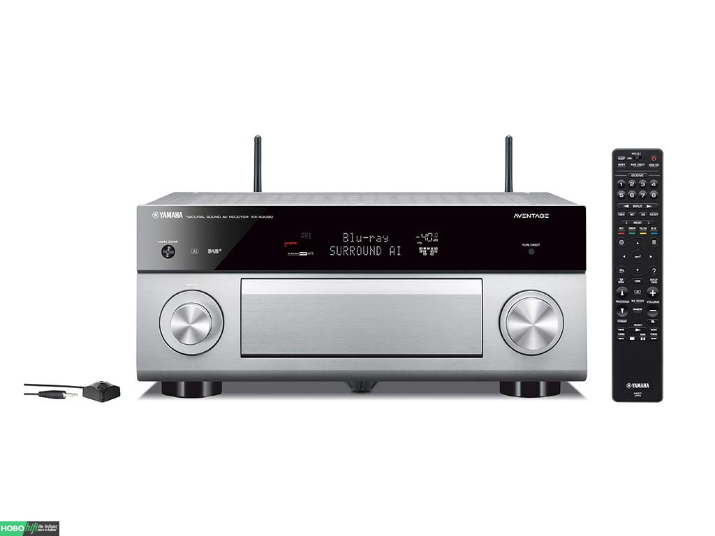 yamaha rx a3080 titanium receiver met musiccast hobo hifi. Black Bedroom Furniture Sets. Home Design Ideas