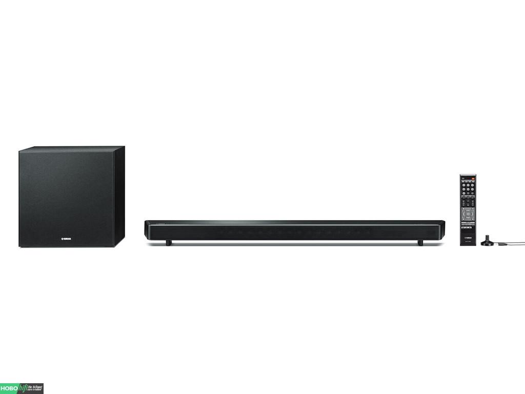 yamaha ysp 2700 musiccast soundbar met subwoofer zwart. Black Bedroom Furniture Sets. Home Design Ideas