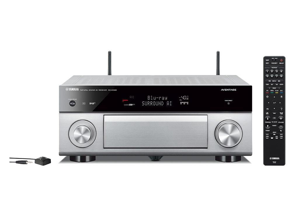 yamaha rx a1080 titanium receiver met musiccast hobo hifi. Black Bedroom Furniture Sets. Home Design Ideas