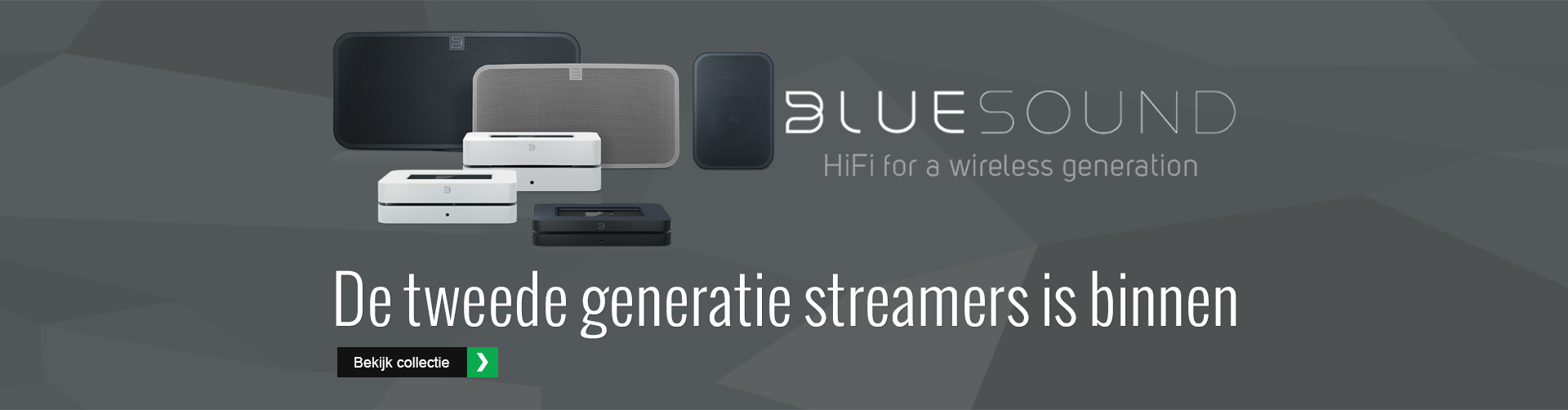 Bluesound tweede generatie streamers bij HOBO hifi